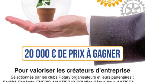 Humacitia présent au Trophée Rotary de la Création d'Entreprise 2019
