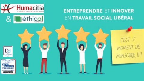 Pourquoi faire le choix de l'accompagnement à la création d'entreprise en travail social by Humacitia ?